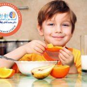 تغذیه کناسب کودک بیش فعال