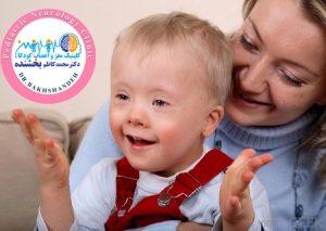 کودک اوتیسمی در کنار والدین